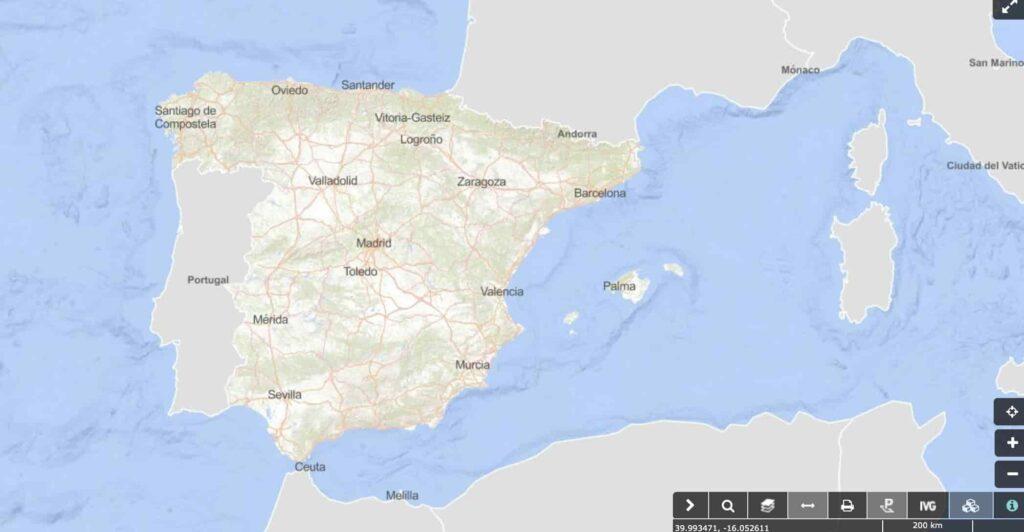 localizar referencia catastral con el Visor cartográfico y ayuda del mapa